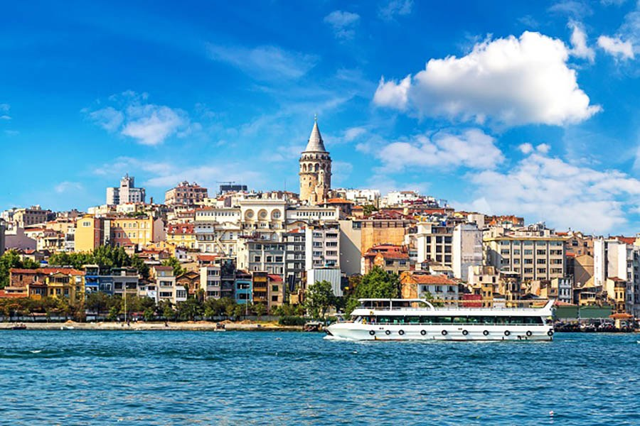Galata Tower from Golden Horn
