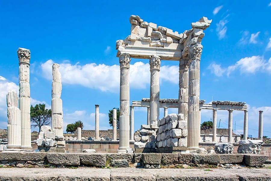 Trajan Temple, Pergamum