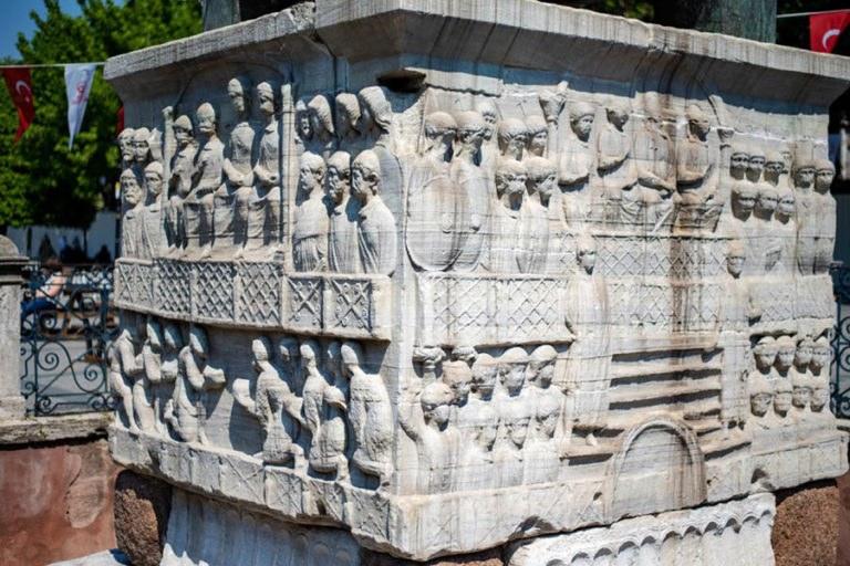 Hippodrome Obelisk Reliefs