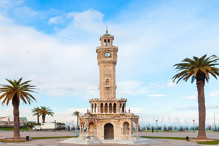 izmir konak clock tower